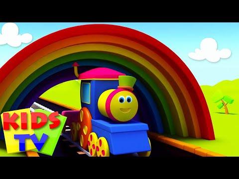 Bob On A Color Ride | Bob colors train | Learn Colors with Bob | Colors song | colors kids TV