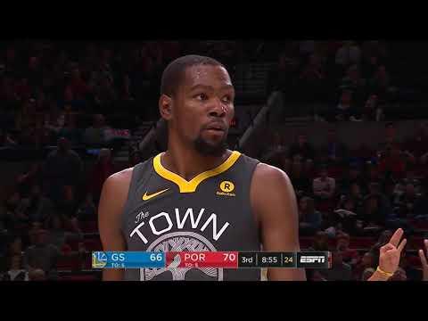 Kevin Durant scores  50pts, 7reb, 6ast vs Portland Trail Blazers / Feb 14 / season 2017-2018
