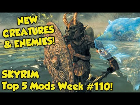Skyrim Top 5 Mods of the Week #110 (Xbox One Mods)