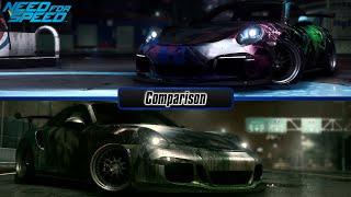 Need For Speed 2015: Porsche 911 Carrera S vs. Porsche 911 GT3 RS