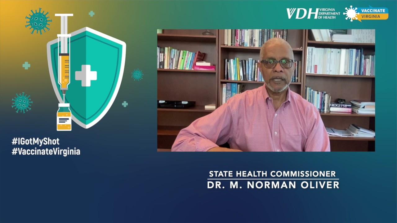 State Health Commissioner M. Norman Oliver