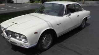 1963 Alfa Romeo 2600 Sprint walk around and drive off