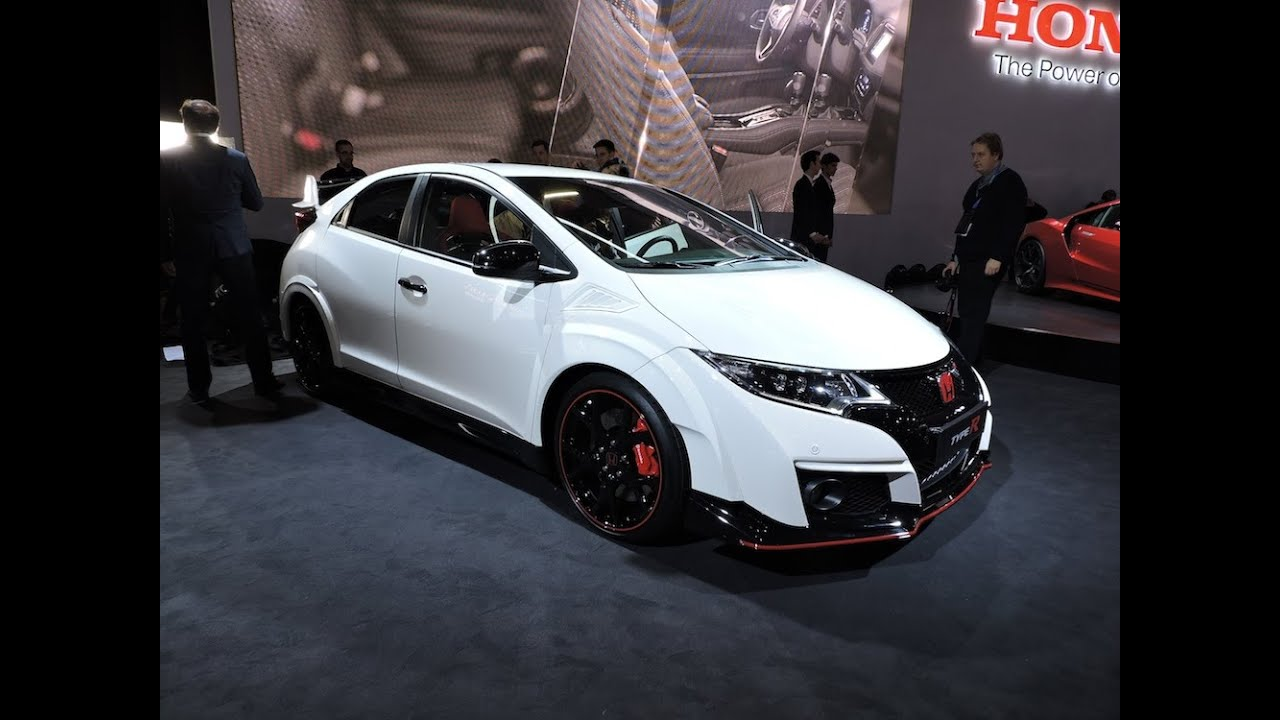 2016 honda civic type r 2015 geneva motor show youtube. Black Bedroom Furniture Sets. Home Design Ideas