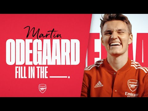 Get to know Martin Odegaard | Best goal, music, & more | Fill In The Blanks