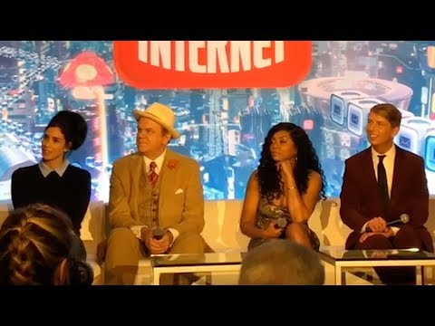 """Ralph Breaks the Internet"" press conference"