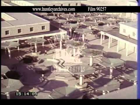 Bahrain, roads, Manama,houses, Isa, Town, 1970's -- Film 90257