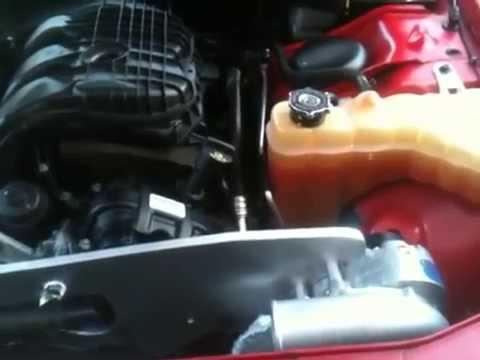 Supercharged Dodge Challenger 3.6 V6