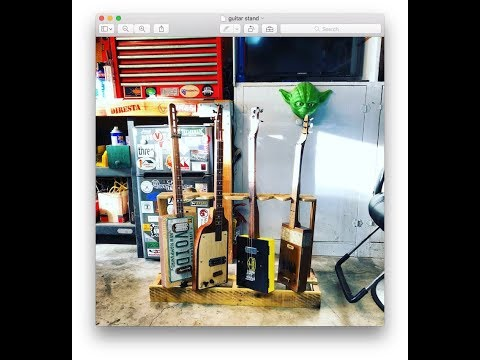DIY 6 Guitar Stand How To