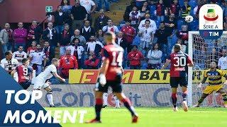 Krzysztof Piątek Makes it Seven Games in a Row! | Genoa 1-3 Parma | Serie A