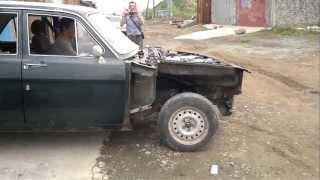 ГАЗ-24 1UZ-FE Первый выезд!
