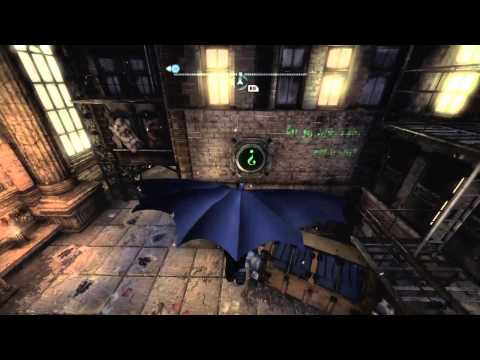 Batman Arkham City Riddler Guide - Park Row Trophy #22