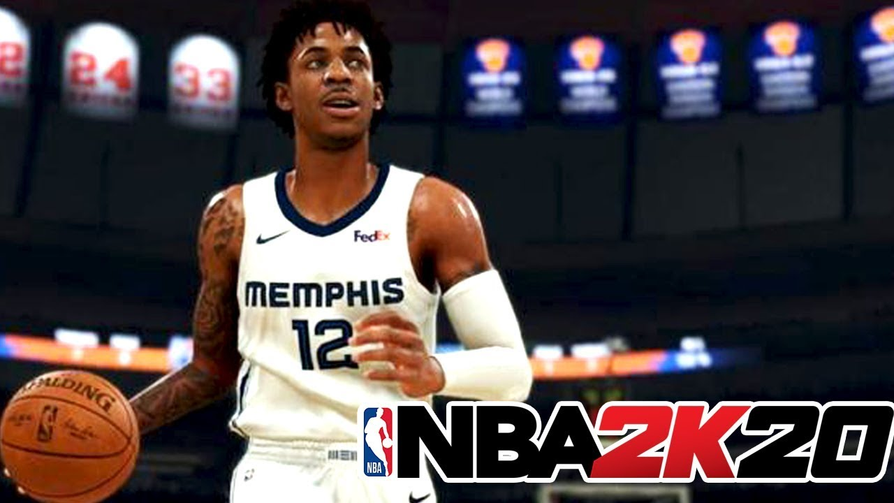 NBA 2K20 - Ja Morant First Look and more Face Scans , Portraits , and  Screenshots
