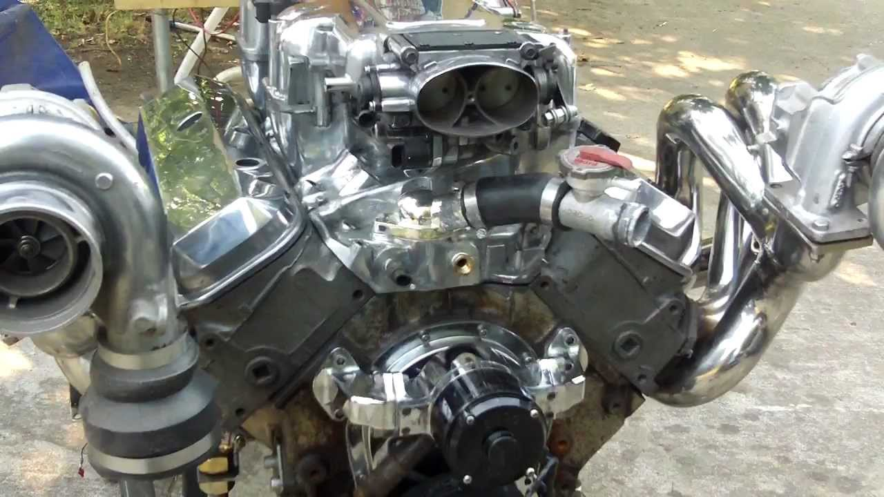 Twin Turbo 454 dyno teaser