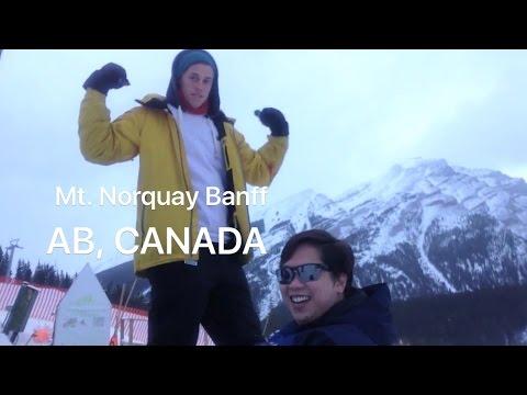 SNOW TUBING @ Mt.Norquay, Banff, Alberta