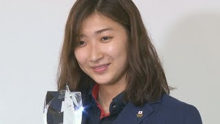 池江選手「有言実行の夏」 アジア大会MVP
