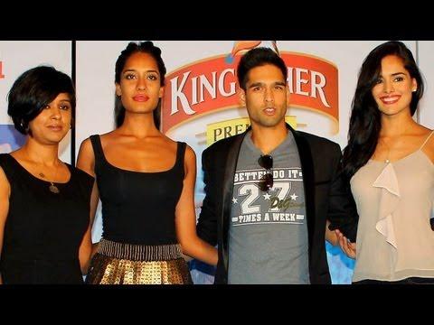 Siddharth With Kingfisher Calendar Girls!