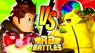 POKE vs TOFUU - RB Battles Championship For 1 Million Robux! (Roblox MM2)