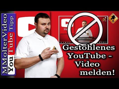 YouTube Video melden Urheberrecht - Urheberrechtsverletzung so geht's von MMolterVideo