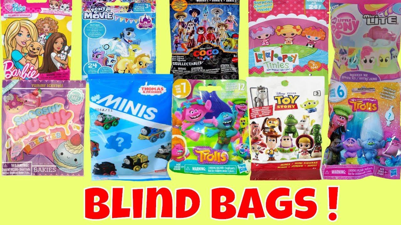 Smooshy Mushy Blind Bags Argos : Blind Bags Opening Toys Surprises Barbie Pets Smooshy Mushy MLP Wave 21 Trolls Series 7 - YouTube