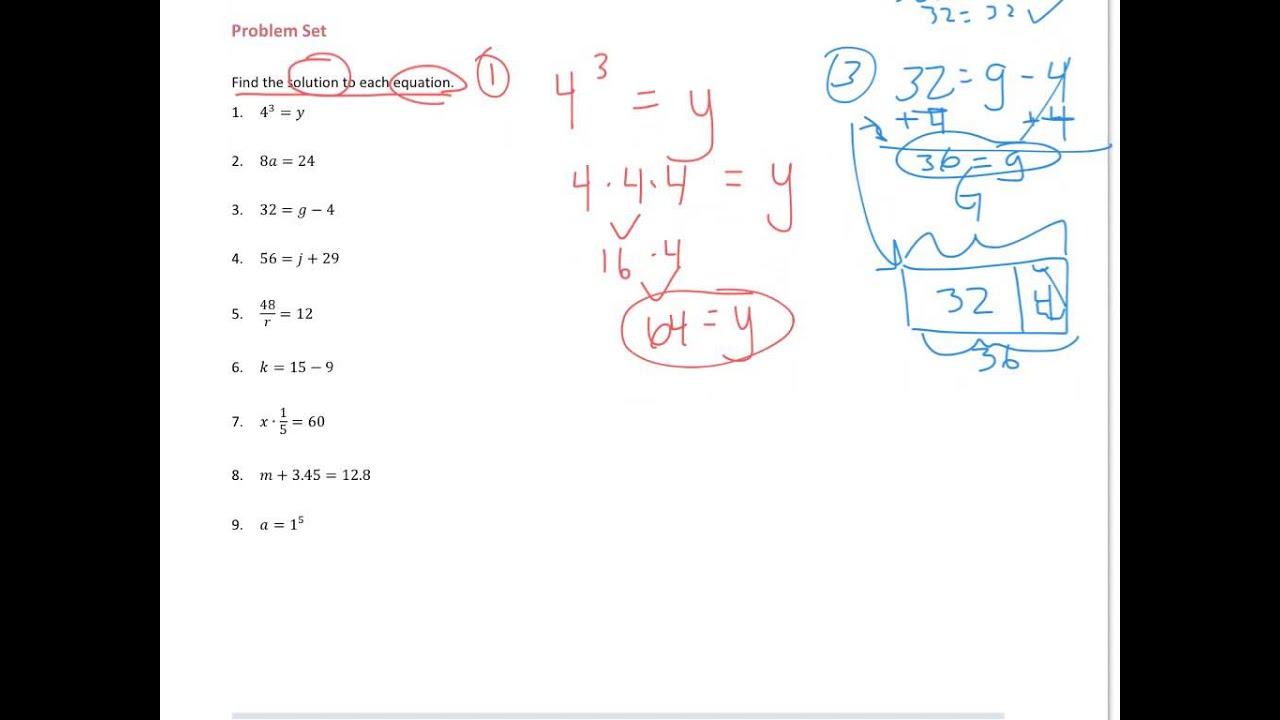 Grade 6 Module 4 Lesson 25 Problem Set