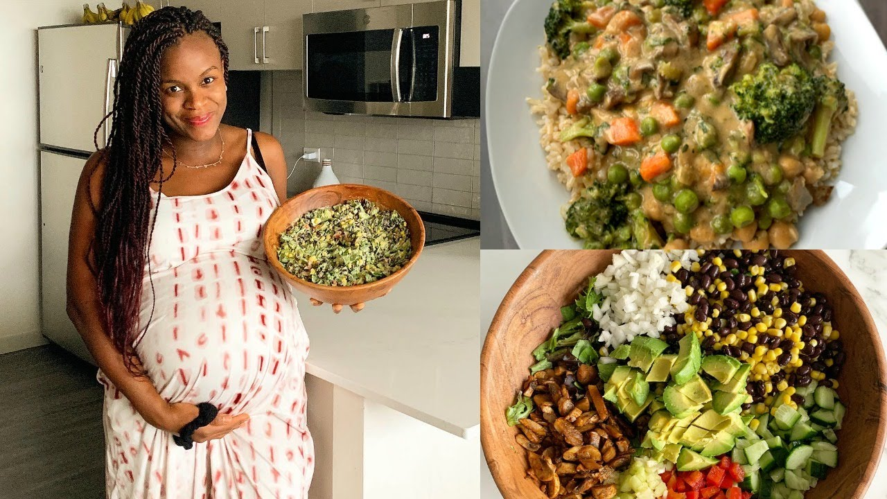 What I Eat in a Day | Pregnant mom [Easy & Healthy vegan meal ideas]