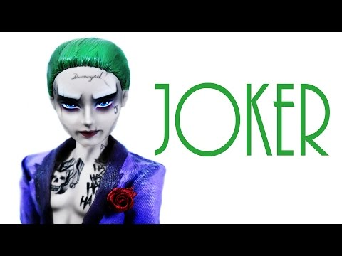 How to make a Joker Doll [ SUICIDE SQUAD ]