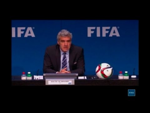 'Blatter is not dancing in his room' and presidential election will go ahead; Credit: FIFA TV Reute