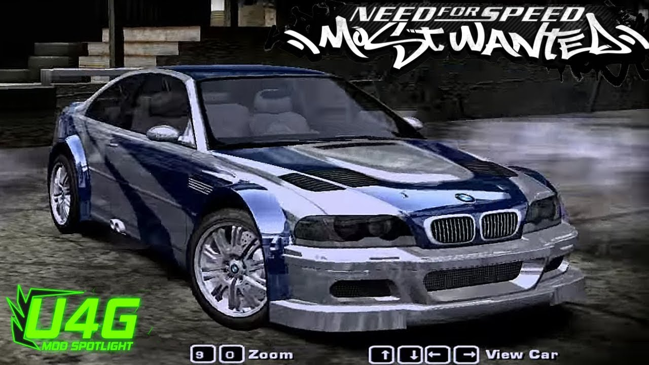 bmw m3 e46 nfs most wanted 2005 mod spotlight youtube
