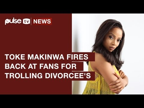 Toke Makinwa Fires Back At Trolling Fans on Divorce Victimization | Pulse TV News