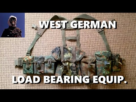 West German Load Bearing Equipment