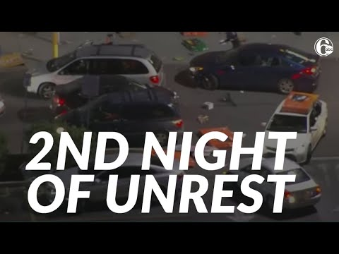 2nd night of unrest in Philadelphia following the fatal police shooting of Walter Wallace Jr.