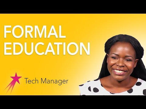 Tech Manager: Education - Elizabeth Kalitsiro Career Girls Role Model