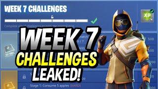 HOW TO COMPLETE SEASON 6 WEEK 7 CHALLENGES LEAKED! FORTNITE WEEK 7!