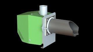 Модернизация пеллетной горелки 15 кВт(, 2017-09-01T13:47:16.000Z)