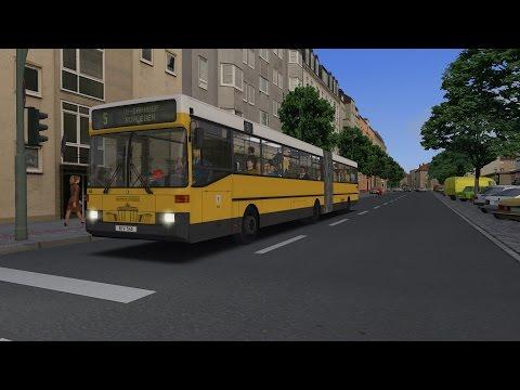 OMSI 2 - Citybus O405G - Berlin Spandau - Line 5: Nervenklinik U-Ruhleben