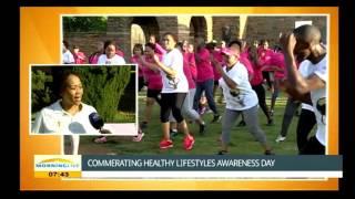 Tobeka madiba-zuma on healthy lifestyles awareness day