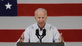 Biden campaigns for Democrats in Florida
