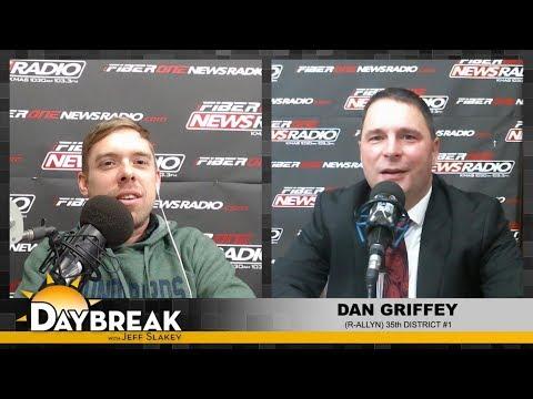 35th District Rep. Dan Griffey on Daybreak - 2/19/18