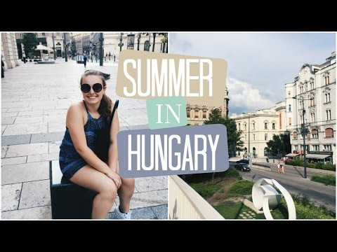 Summer in Budapest, Hungary || Travel Diary