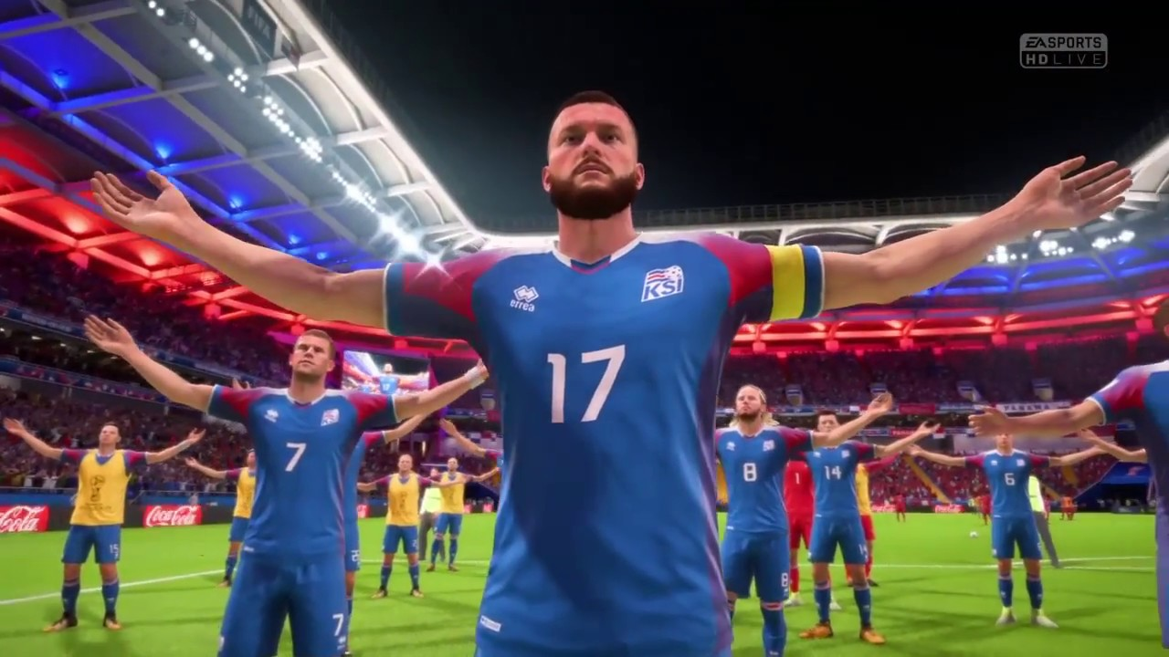 on sale 8bed9 9ba74 FIFA 18 World Cup - ICELAND CELEBRATION