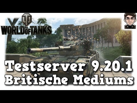 World of Tanks - Testserver 9.20.1 Buffs am Turm der britischen Mediums [deutsch | News]