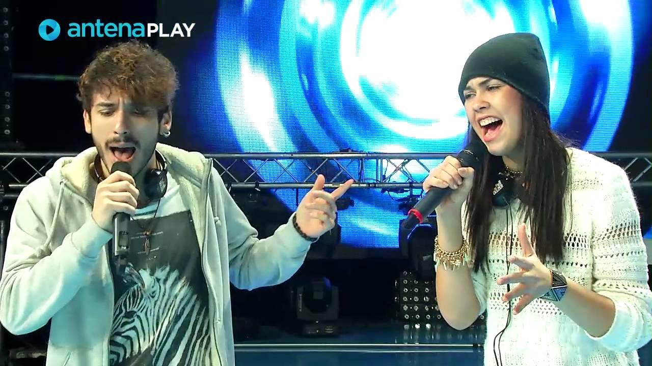 Cheloo le dă sfaturi concurenților inainte de semifinala X Factor Romania, sezonul trei