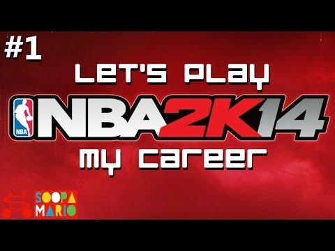 NBA 2K14 PC My Career Part 1 - Fantastic Draft