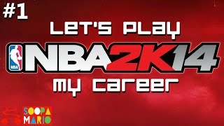 NBA 2K14 PC My Career Part 1 - Fantastic Draft