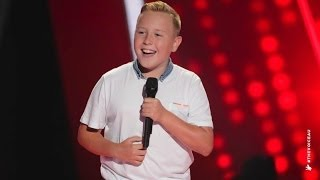 Robbie Sings Hey Soul Sister | The Voice Kids Australia 2014 thumbnail