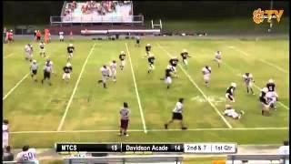 Winn scrambles for a big gain vs Davidson Academy
