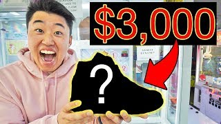 I WON $3,000 Sneakers! (With Carter Sharer and Lizzy Sharer)