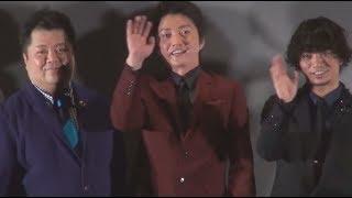 元KAT-TUNの田中聖、俳優の窪塚洋介らが、映画『サンブンノイチ』初日舞...