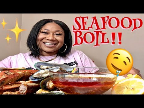 Dating A Girl Vs. A MAN (My Experience) HUGE CRAB LEGS AND BLACK BEAN NOODLES MUKBANG!!! from YouTube · Duration:  29 minutes 55 seconds