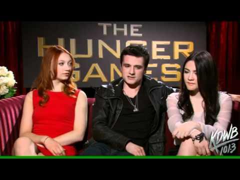 Josh Hutcherson, Jackie Emerson & Isabelle Fuhrman interview